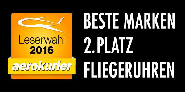 Beste Marke - Leserwahl Aerokurier 2016 2. Platz