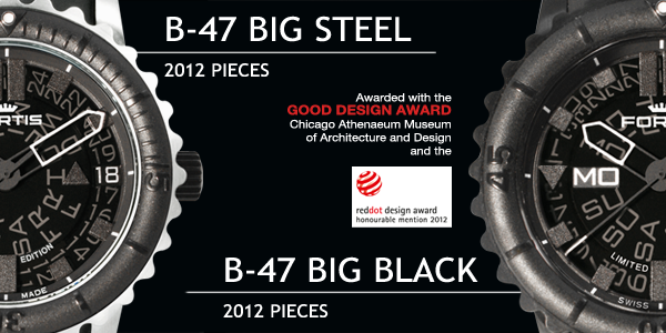 FORTIS B-47 BIG BLACK & BIG STEEL