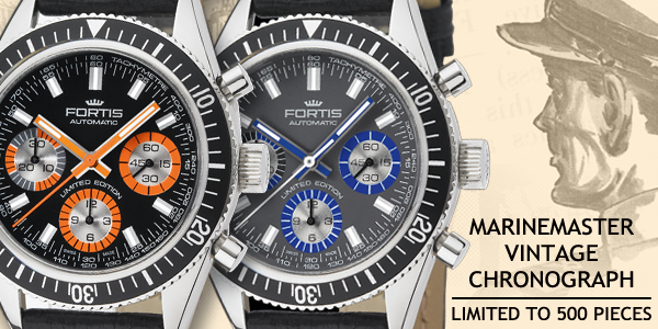 FORTIS MARINEMASTER VINTAGE Chronograph