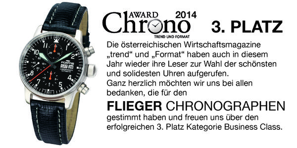 Chrono Award 2014